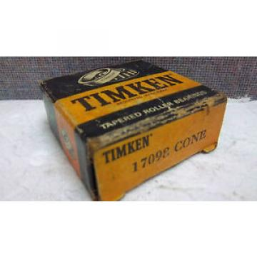 TIMKEN TAPERED ROLLER BEARING 17098 CONE NEW 17098