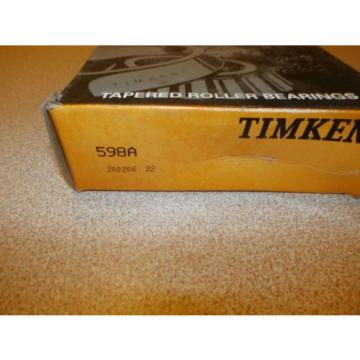 TIMKEN TAPERED ROLLER BEARING 598A