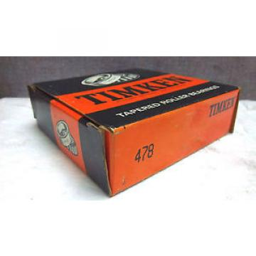 TIMKEN TAPERED ROLLER BEARING 478 NEW 478