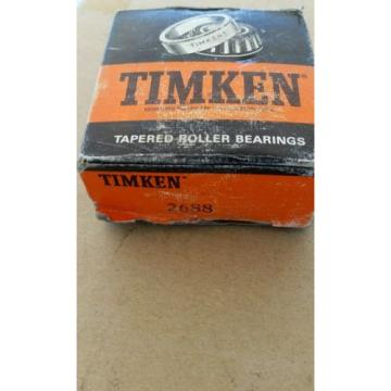 Timken Tapered Roller Bearing # 2688 New