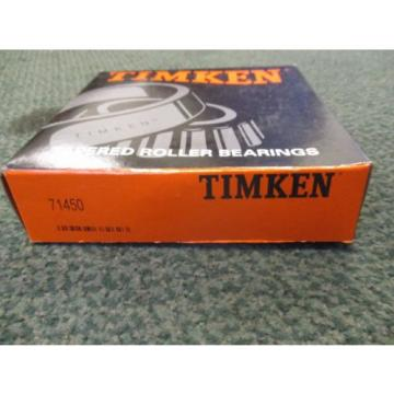 Timken Tapered Roller Bearing 71450 New Surplus