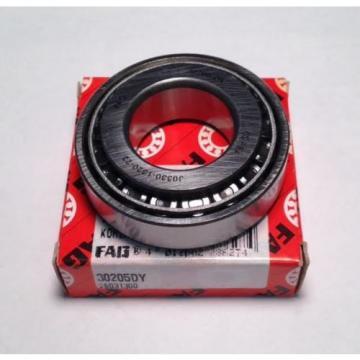 FAG Bearing 30205DY Tapered Roller Bearing (NEW) (DA5)