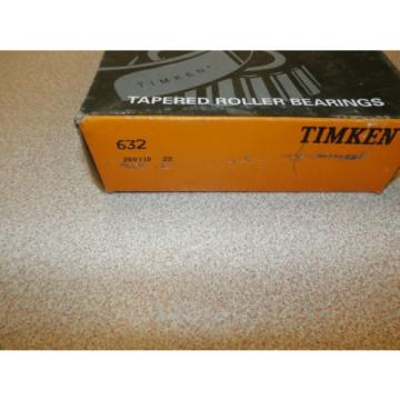 TIMKEN TAPERED ROLLER BEARING 632