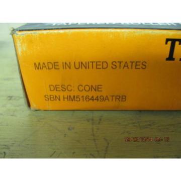 Timken HM516449ATRB Tapered Roller Bearing Cone