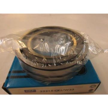 *NEW* SKF 22215 CKJ/W33 SPHERICAL ROLLER BEARING  TAPER BORE