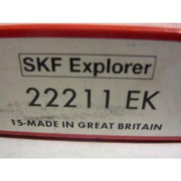 SKF 22211-EK Tapered Bore Spherical Roller Bearing  55x100x25mm ! NEW IN BOX !