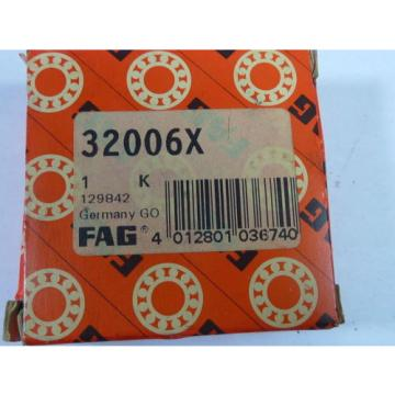 FAG 32006X Tapered Roller Bearing