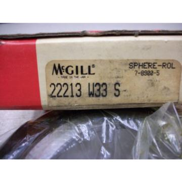 McGill 22213 W33S Spherical Roller Bearing