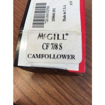 McGill Precision Bearings CAM FOLLOWER CF 7/8 S Lot Of 10