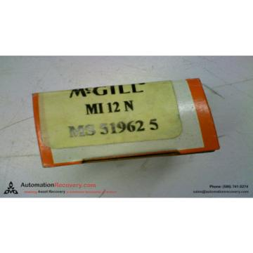 MCGILL MS 51962 5 BEARING, NEW #144042