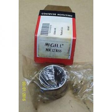 *NEW* McGILL NEEDLE BEARING MR 12 RSS , MR12RSS