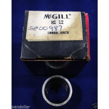 "BEARINGS McGill MI12 MI-12 Inner Race BEARING 3/4"" ID 1"" OD, 1"" WIDTH M12"