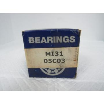 MCGILL* MI-31 NEEDLE NON THRUST ROLLER BEARING