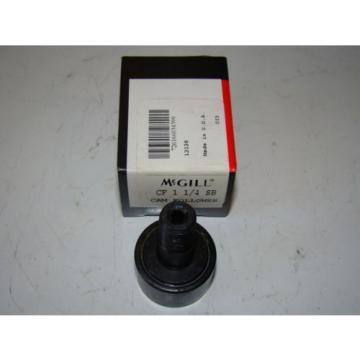 (10) McGill, Precision Bearings Cam Follower, Emerson, CF 1 1/4 SB
