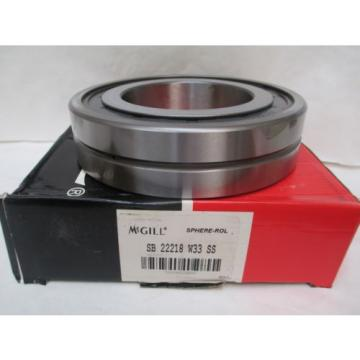 NEW MCGILL SPHERE-ROL BEARING SB 22218 W33 SS SB22218W33SS