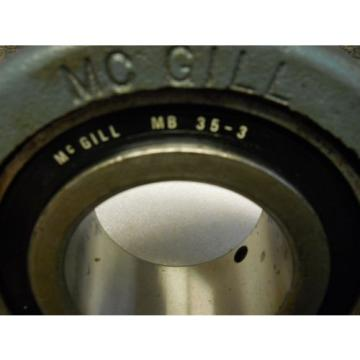 "MCGILL C216 MB35-3  PILLOW BLOCK BEARING 3"" BORE NEW CONDITION / NO BOX"