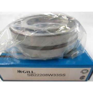 *NEW* MCGILL SB22208W33SS Spherical Roller Bearing