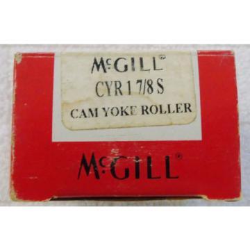 "McGill CYR 1 7/8S Cam Yoke Roller, Sealed, Inch, Steel, 1-7/8"" Roller Diameter,"