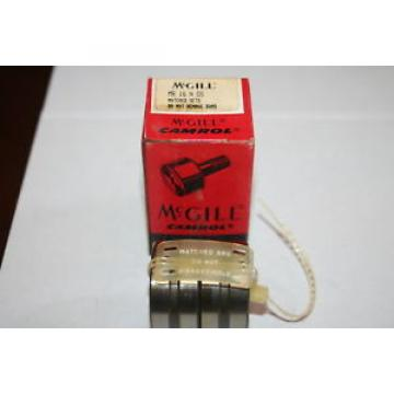 McGill MR-16-N-DS Caged Roller (Cagerol) Bearings Matched Set * NEW *