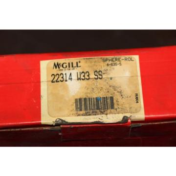 NEW McGill Sphere-Rol Precision Bearing Spherical Large  # 22314 W33-SS