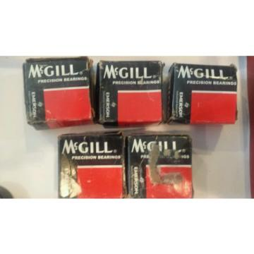 (5) McGILL cam yoke roller bearings CYR 1 7/8 S