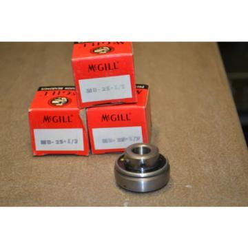 "(Lot of 3) McGill MB-25 1/2"" Insert Bearing"