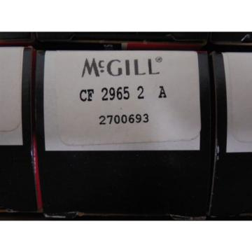 NEW Lot of 10 McGill Cam Follower Bearings CF 2965 2 A