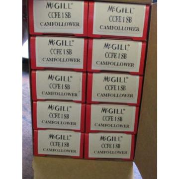 NEW MCGILL BOX OF 10 CAMFOLLOWER BEARINGS CCFE 1 SB