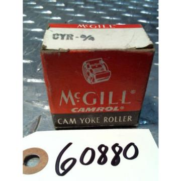McGill Camrol Cam Yoke Roller Bearing CYR - 3/4  NIB