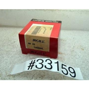 McGill MR26 Cagerol Bearing (Inv.33159)