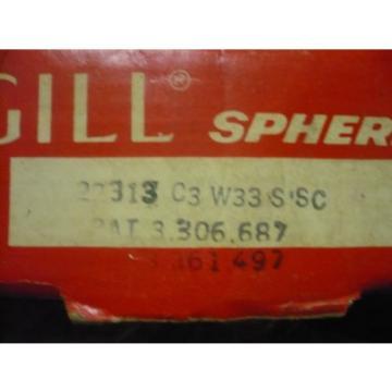 1 NEW MCGILL SB 22313 C3 W33 SSC  ROLLER BEARING W/NYLAPLATE SEAL ** NIB **