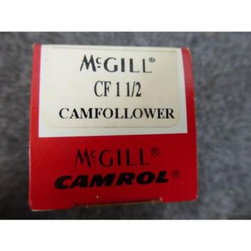 New McGill CF 1 1/2  Camfollower Bearing CF1-1/2