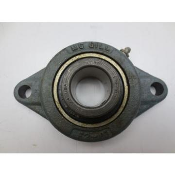 "McGill MB-25-1 1/4 Bearing (1-1/4"" ID) With F2-07 Flange Mount"