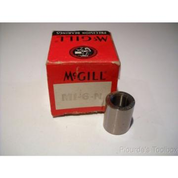 "New McGill Cagerol 3/8"" Needle Bearing Inner Race, MI-6-N"