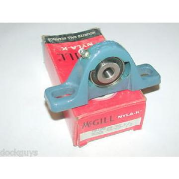 BRAND NEW IN BOX MCGILL NYLA-K PILLOW BLOCK BEARING CL-25-1/2 (2 AVAILABLE)