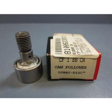 "1 Nib McGill CF-1-SB-CR Cam Follower Bearing RD 1.0000"" RW .6250"" SD .4375"""