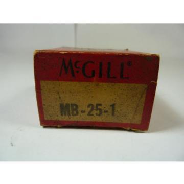 McGill MB-25-1 Ball Bearing Insert ! NEW !