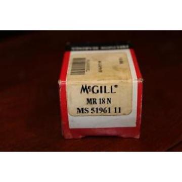 McGILL PRECISION BEARING MR-18-N  NOS MS51961 11