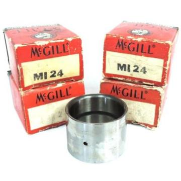 LOT OF 4 NIB MCGILL MI24 PRECISION INNER RACE BEARINGS