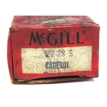 NIB MCGILL MR-28S CAGEROL BEARING MR-28-S MR28S