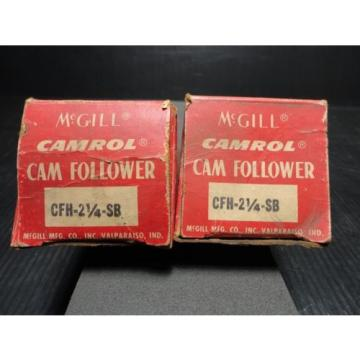 "*NEW* McGill CFH 2 1/4"" SB Flat Cam Follower"