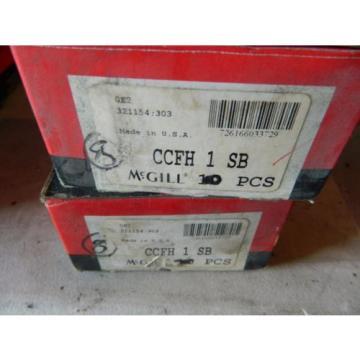 MCGILL CCFH1SB  CCFH 1 SB  BOX OF 10