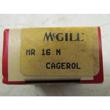 McGill MR 16 N Cagerol Bearing NIB