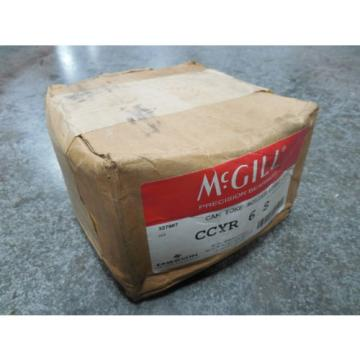 NEW McGill CCYR-6-S Cam Yoke Roller Lubri-Disc Follower Bearing