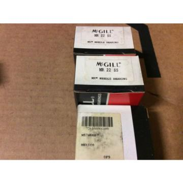 3-McGILL bearings#MR 22 SS ,Free shipping lower 48, 30 day warranty!
