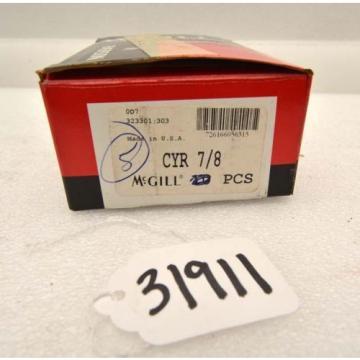 Lot of (7) mcgill cam yoke rollers cyr 7/8 (Inv.31911)