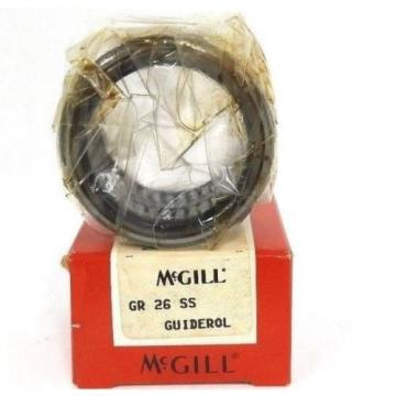NIB MCGILL GR-26-SS GUIDEROL ROLLER BEARING SEALED 1-5/8X2-3/16X1-1/4INCH