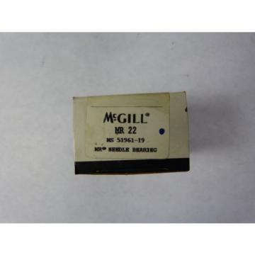 "Mcgill MR-22 Needle Roller Bearing 1-3/8x1-7/8x1-1/4"" ! NEW !"