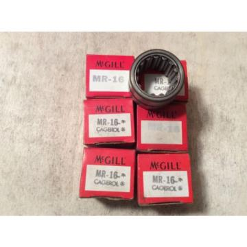 6- MCGILL   /bearings #MR-16,30 day warranty, free shipping lower 48!