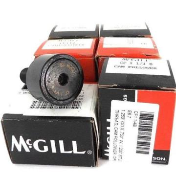 LOT OF 6 NIB MCGILL CF-1-1/4-B CAM FOLLOWERS CF114B